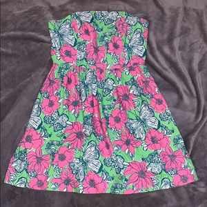 NWOT Lily Pulitzer flower butterfly dress